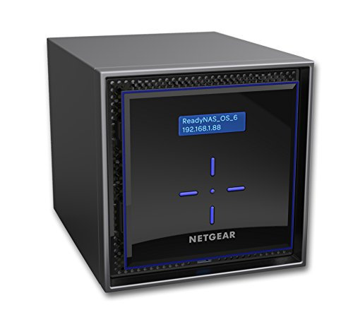 Netgear ReadyNAS® 16 TB Desktop Ethernet LAN Network Attached Storage – Schwarz