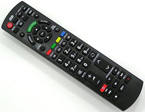 Ersatz Fernbedienung für Panasonic TV Fernseher Remote Control / PA10 / TX-L37ET5Y TX-L37ETW5 TX-L37ETW5W TX-L37S10B TX-L37V20 TX-L37V20B TX-L37V20BA TX-L39B6 TX-L42D26 TX-L42D26BA TX-L42ET5 TX-L42ET50B TX-L42ET5B TX-L42ET5E TX-L42ET5EW TX-L42ET5Y TX-L42ET5YW TX-L42ETW TX-L42ETW5 TX-L42ETW5W TX-L42WT50B TX-L47ET5 TX-L47ET5B TX-L47ET5E TX-L47ET5Y TX-L47ETW5 TX-L47WT50B TX-L50B6 TX-L55DT50B TX-L55ET5 -