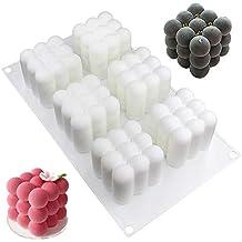 DUEBSN dubens Mousse de Molde Silikomart, Molde de Silicona/Molde para Magdalenas, Cupcakes