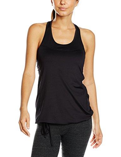 Intimuse-Damen-Yoga-Tank-Top-Sport-Shirt-Donna-Nero-Schwarz-001-34-Taglia-Produttore-X-Small