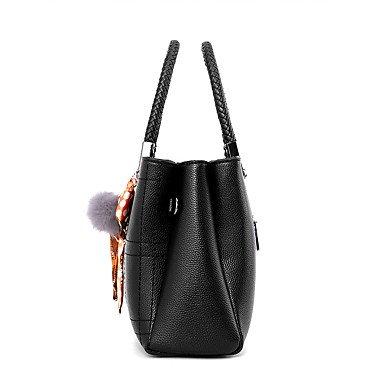 Frauen Handtasche Mode Plaid Schulter Messenger Crossbody Taschen / Handtaschen Tote Wine