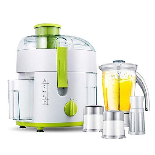 LJHA Exprimidor casa multifunción exprimidor máquina de leche de soja exprimidor de frutas y verduras de 2 colores opcionales, 23 * 35 * 27 cm Licuadora ( Color : Verde )