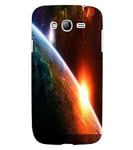 ColourCraft The Galaxy Design Back Case Cover for SAMSUNG GALAXY GRAND I9082