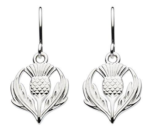 Ohrringe aus Sterlingsilber mit Giorsail-Distel, 6314HP -