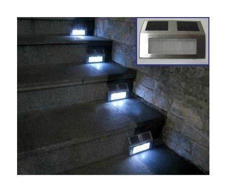 Solarlampe für Außen LED-Solar-Wandleuchte Solarlampen für Außen LED Außenwandstrahler solar Beleuchtung Wandleuchte Solarlampe Außen Bewegungssensor Sound-&Lichtsensor Solar Wandlampen