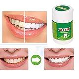 DingLong Natürliche Zahnreinigungs-Puderzähne, die zu Den Gelben Zähnen zu Flecken weiß Werden, beflecken Helles weißes schwarzes Zahnpulver 50g