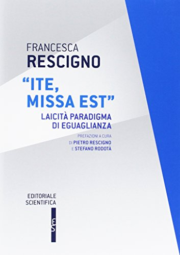 «Ite missa est». Laicità paradigma di eguaglianza