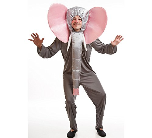 Imagen de disfraz para hombre de elefante gris