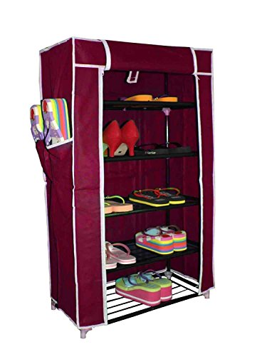 House of Quirk 5 Layer Multipurpose Shoe Rack