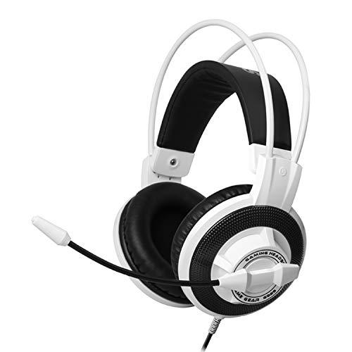 Somic Gaming-Headsets PS4, 3,5 mm Stereo-Kopfhörer, mit Rauschunterdrückung, Mikrofon und Lautstärkeregler, Over-Ear-Kopfhörer Over-ear Hands Free-headset