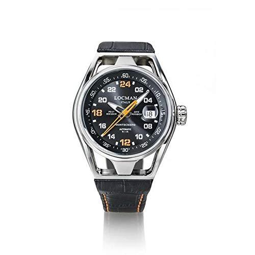 Men's Watch Montecristo 24H Limited Edition Automatic Black Locman