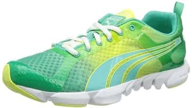 Puma Formlite XT Ultra DipDye Wns 187198 Damen Outdoor Fitnessschuhe, Mehrfarbig (electric green-sunny lime 01), EU 36 (UK 3.5) (US 6)