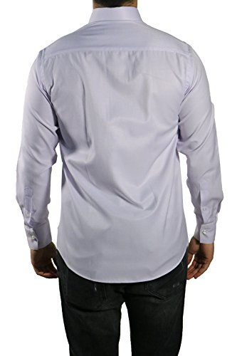 MUGA -  Camicia classiche  - A righe - Maniche lunghe  - Uomo Hellflieder