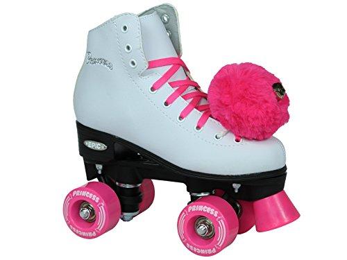Epic Skates Princess Light Up Räder Mädchen Quad Rollschuhe (Kinder-roller Rink-skates)