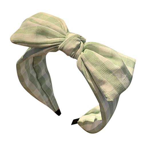 CUTUDE 1PC Damen Headbands Blumenmuster Headwrap Twist Knoten Haar Band Yoga Head Packungen Sport Elastic Turban (Grün, Uniform code)