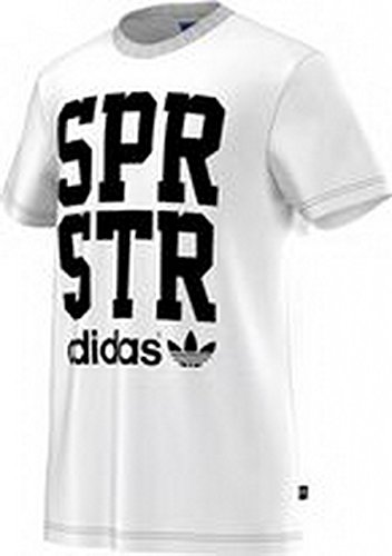 Adidas T-Shirt Men SPR GRAPHIC TEE S19270 White Weiss