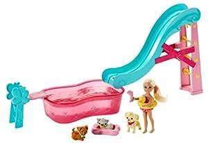 Barbie bll48 poup e mannequin piscine de chelsea et for Mannequin piscine