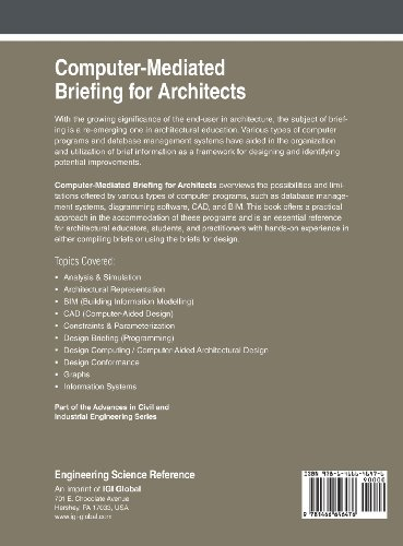 Computer-Mediated Briefing for Architects (Advances in Civil and Industrial Engineering)