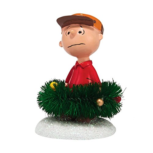 Department 56 Peanuts Village Surrounded by Christmas Accessory, 1.57-Inch (Christmas Peanuts Village)