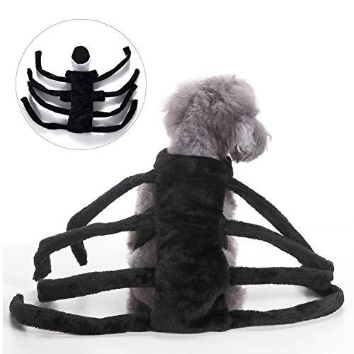 BUOCEANS Haustier Kostüme, Halloween Hundemantel, Haustiere Fledermaus Kostüm, Hundekostüm Haustiere, Hundekostüm, Halloween Party, Cosplay Hund Bekleidung