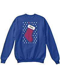 Teespring Men's Novelty Slogan Sweatshirt - Clarence Christmas Stocking