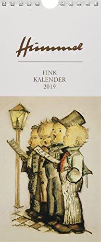 Fink Hummel 2019. Kunst-Postkartenkalender