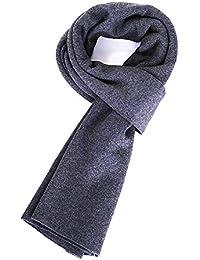 Aooaz Écharpe pour hommes Femmes Écharpe d hiver en cachemire tricotée Écharpe  chaude écharpes homme d9101a7c3ad