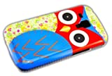 thematys Samsung Galaxy S3 mini i8190 / i8200 Bunte Eule Owl Hard Case Schutz-Hülle Cover Etui