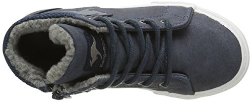 KangaROOS Unisex-Kinder Kavu I High-Top Blau (dk Navy/grey 423)