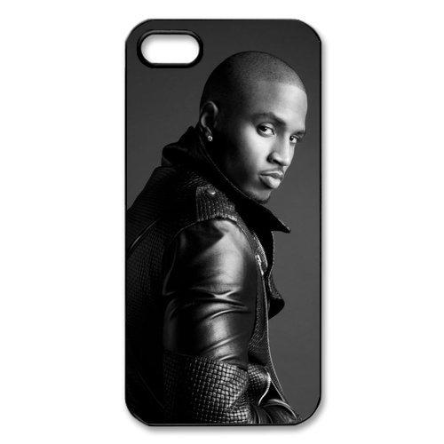 fayruz- personnalisée Trey songz Coque de protection rigide en caoutchouc avec revêtement en silicone téléphone portable Coque pour iPhone 5S/iPhone 5b-i5W957
