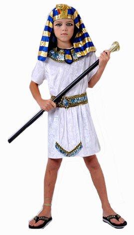 Ägyptischen Pharao Kinder-Kostüm 7-9 Jahre Medium