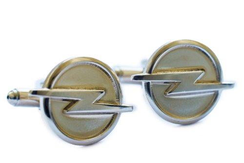 opel-lightning-logo-flash-boutons-de-manchette
