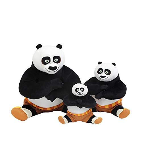 TKHCOLDM Kung Fu Panda Juguete de Peluche 20 cm / 30 cm colección Linda Suave muñeca rellena Animado bebé niño Juguete Regalo de cumpleaños de Navidad -20 cm