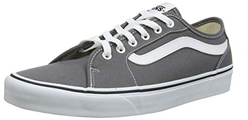 Vans Filmore Decon, Sneaker Uomo, Grigio (Canvas/Pewter/White 4wv), 43 EU