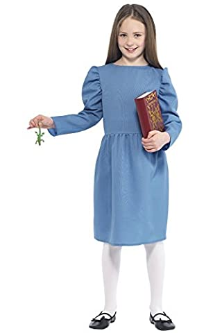 Girls Matilda Roald Dahl Fancy Dress Costume Size Medium Age 7 to 9 by Smiffy's