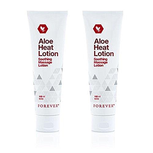 2 Lociones Aloe Heat