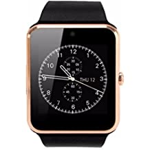 UIMI Bingo T50- Gold Bluetooth Smart Watch With Sim Card Enabling, Compatible With Anroid And Ios Device