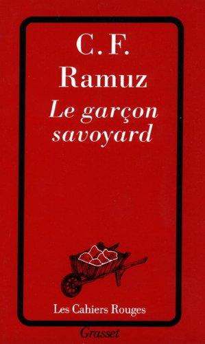 Le garcon savoyard (Cahiers Rouges)