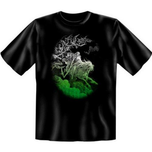 otive! Halloween Fun T-Shirt: Ghost Rider - unisex Funshirt, Größe: XXL ()