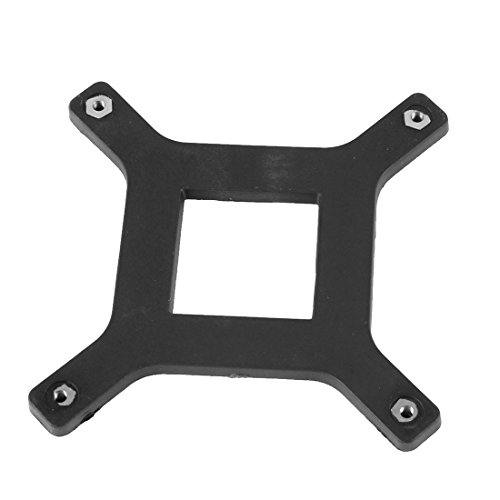 sourcing map CPU Lüfter Halterung Halter Klemme Rückenplatte für Mainboard Sockel LGA775 DE de -