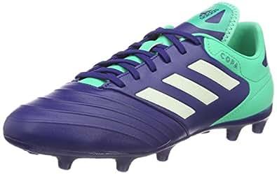 adidas Copa 18.2 FG, Chaussures de Football Homme, Multicolore (Unity Ink F16/Aero Green S18/Hi-Res Green S18), 41 1/3 EU