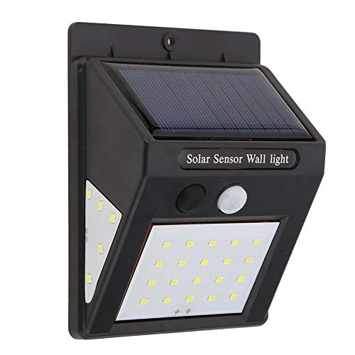 Wasserdichte PIR-Bewegungsmelder-aktivierte Solarleuchte Gartenwandleuchte (30 LED) - Asiproper -