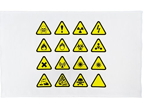 3 x Geschirrtücher für Chemiker - Tolles Universitäts-Anfängerset. Geschirrtücher für Wissenschaftler!