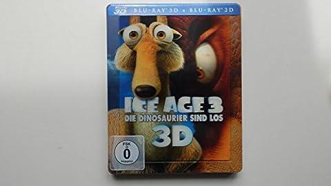 Ice Age 3 - Die Dinosaurier sind los (inkl. 2D-Version) (Limited Lenticular Steelbook) [3D Blu-ray]