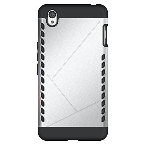 Cruzerlite Cell Phone Case for OnePlus X - Retail Packaging - Silver