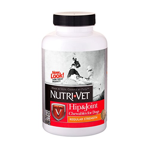 Artikelbild: Nutri-Vet Glucosamine Hip & Joint Early Care Liver Dog Chewables Tablets 120ct