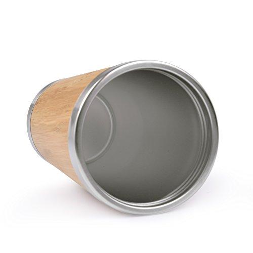 Kaffee Thermobecher aus Bambus von OUTDOOR FREAKZ – 450 ml - 5