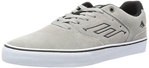 Emerica The Reynolds Low Vulc, Chaussures de skateboard homme Gris
