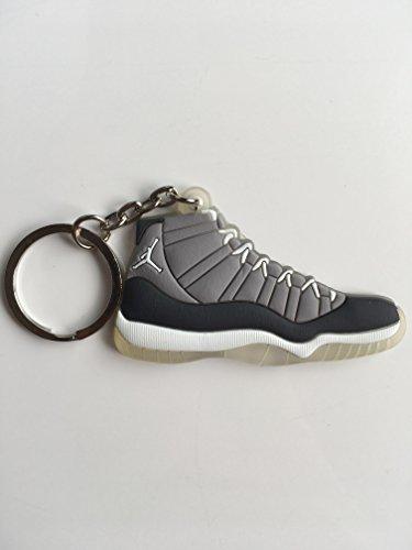 Jordan Retro 11Cool Grey Sneaker Schlüsselanhänger Schuhe Schlüsselanhänger AJ 23OG (Cool Grey 11 Retro)