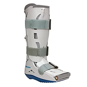 Aircast XP Diabetic Walker - Foot & Ankle Brace To Immobilise & Support Injury Recovery - Specially Designed For Diabetic Patients - Protection, Pain Relief & Compression Small